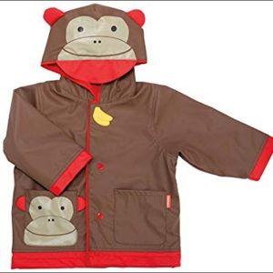 Skip Hop Little Kid Raincoat Medium (3-4) Monkey